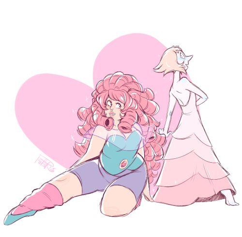 Outfit Swap Rose Quartz And Pearl Steven Universe Fan Art By