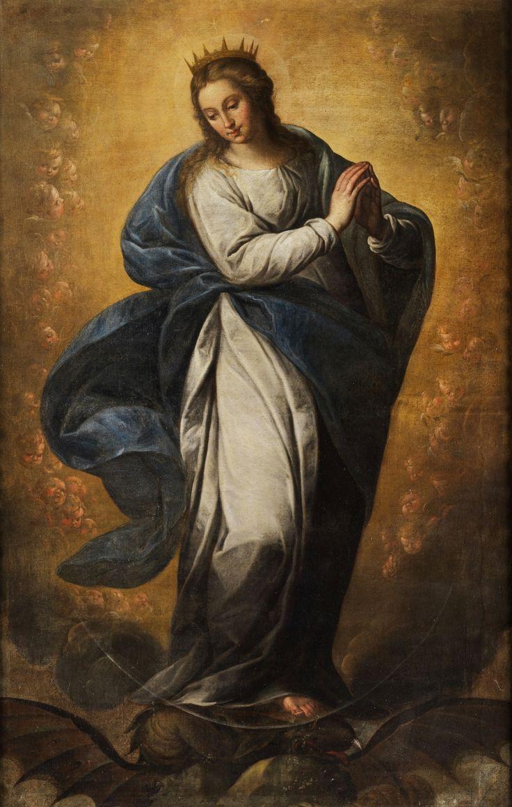L'Immaculée-Conception, anonyme espagnol (v.1650)