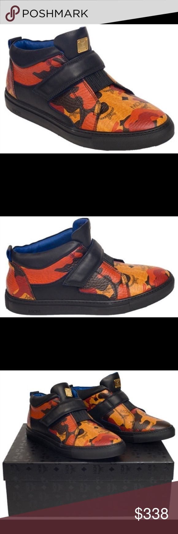 Mcm Shoes WILL COME BRAND NEW WITH TAGS AND RECEIPTS. Contact me To lower the price too 270$ 219-256-6777 or            INSTAGRAM:davidfrm072 MCM Shoes Sneakers