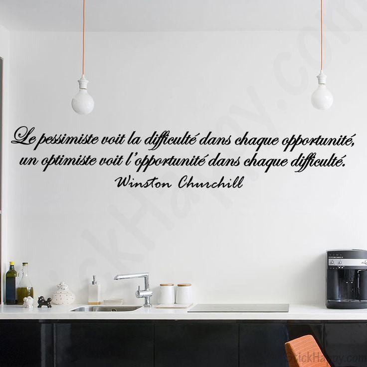 Stickers citation Winston Churchill : Le pessimiste voit la difficulté dans chaque opportunité, un optimiste voit l'opportunité dans chaque difficulté de Winston Churchill - http://www.stickhappy.com/stickers-citation-travail/232-stickers-citation-winston-churchill.html