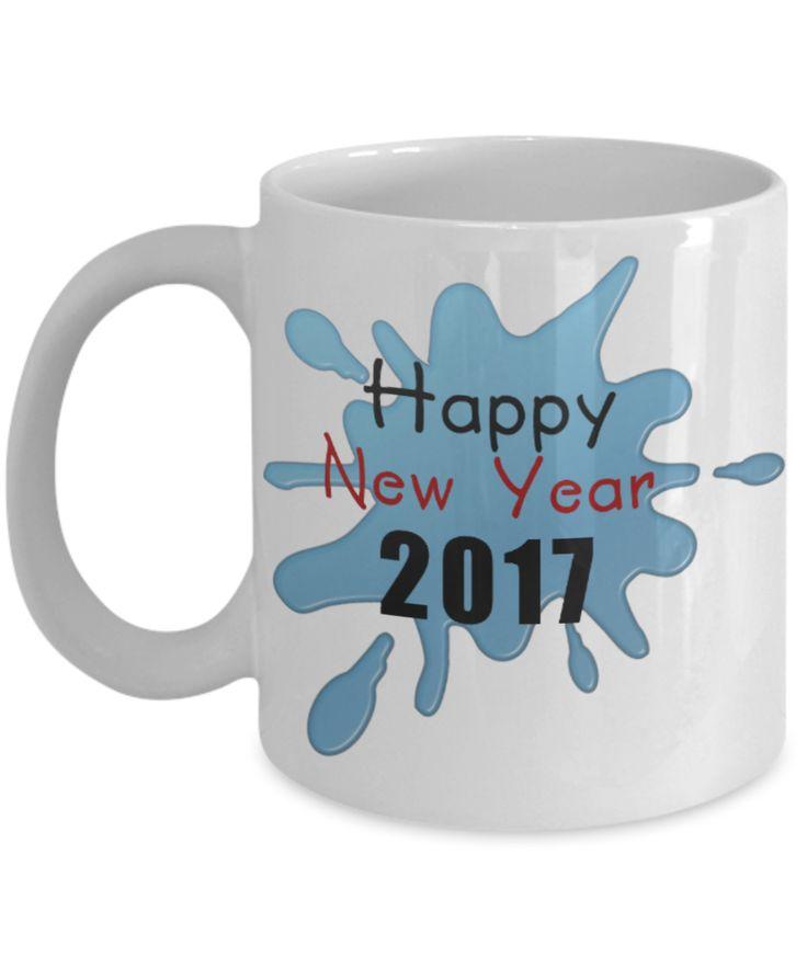 Happy New Year 2017 Coffee Mug #happynewyear2017coffeemug #newyear2017coffeemugs #2017newyearcoffeemugs