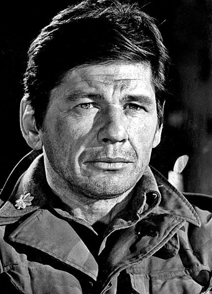 Charles Bronson, In 1943, enlisted in the United States Army Air Forces and served as a B-29 aerial gunner as a Superfortress crewman with the 39th Bombardment Group based in Guam. He was awarded a Purple Heart for wounds received during his service.