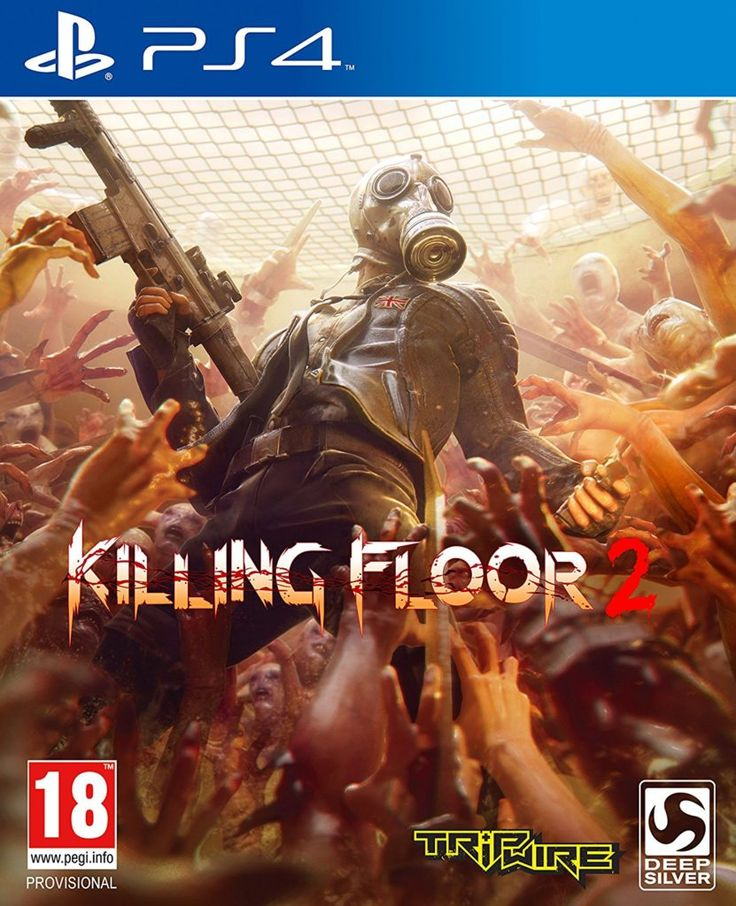 Killing Floor 2 Game Cover Front Art Playstation 4 Ps4  #Playstation4 #Ps4    http://pusabase.com/blog/2016/11/03/top-5-games-coming-for-the-ps4-this-xmas/