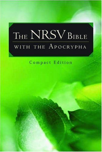 The NRSV Bible with the Apocrypha (Compact Edition)
