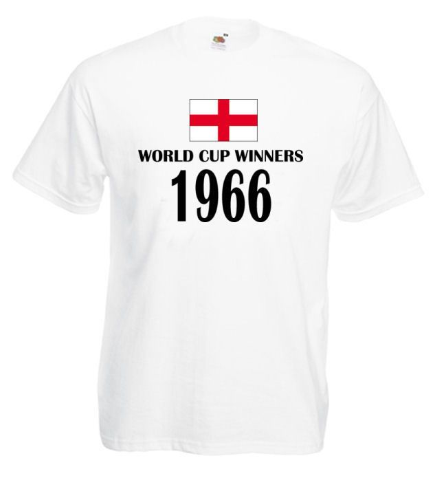 #World #Cup #Winners 1966 #England Brazil 2014 #Football Tshirt Medium - 5XL £9.99