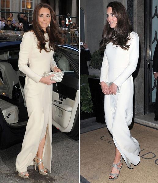 Sparkling Kate puts best foot forward