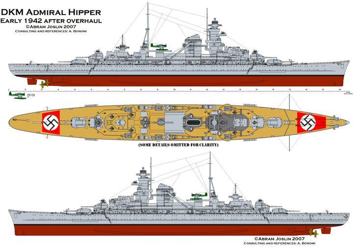 Admiral Hipper 1942