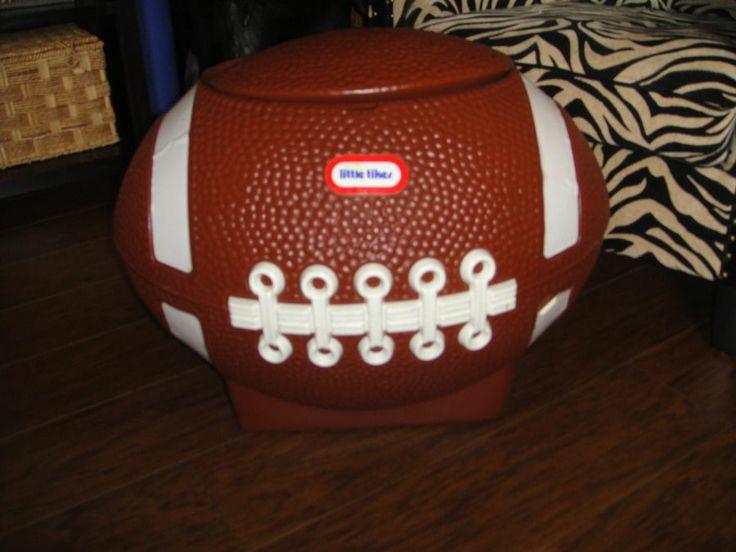 vintage little tikes football toy box 2