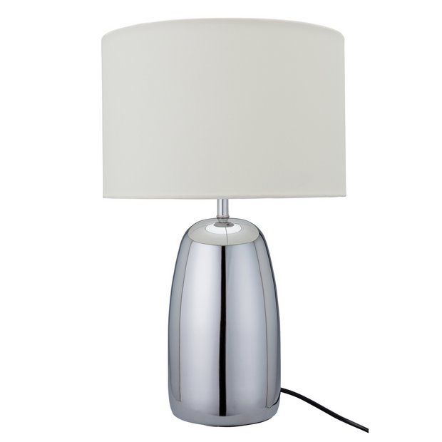 Buy Argos Home Largo Chrome Touch Table Lamp Cream At Argos Thousands Of Products For Same Day Delivery 3 95 Or Fast Sto Touch Table Lamps Table Lamp Lamp