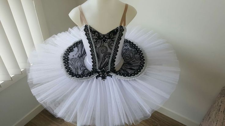 Classical tutu  Black and white   Handmade by Jenny   JeTutus   Follow on facebook