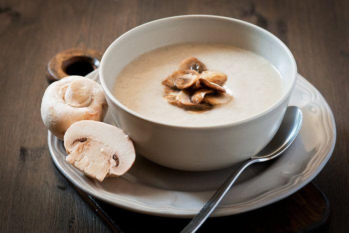 Σούπα βελουτέ μανιταριών