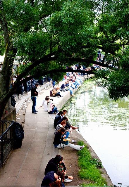 Camden Locks, London via http://townfish.com. Follow us: http://twitter.com/townfish_london