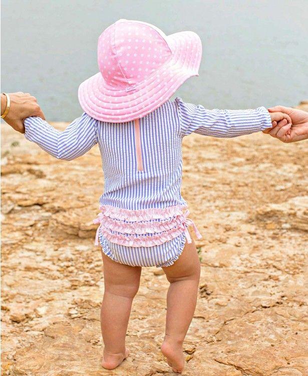 c6268097d7933 Ruffled Baby Swimsuits - Girls Bikinis, & Infant One-Piece Bathing Suits |  RuffleButts.com