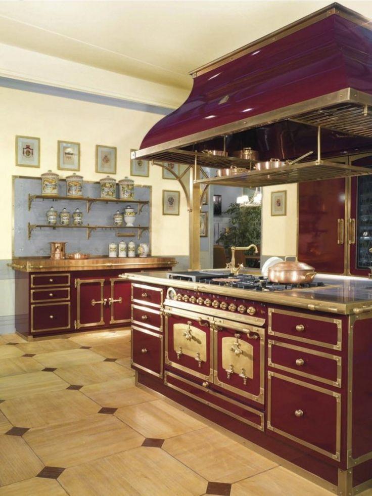 Cucina completa in metallo con accessori di cottura restart restart firenze cucine in - Cucina in muratura ...