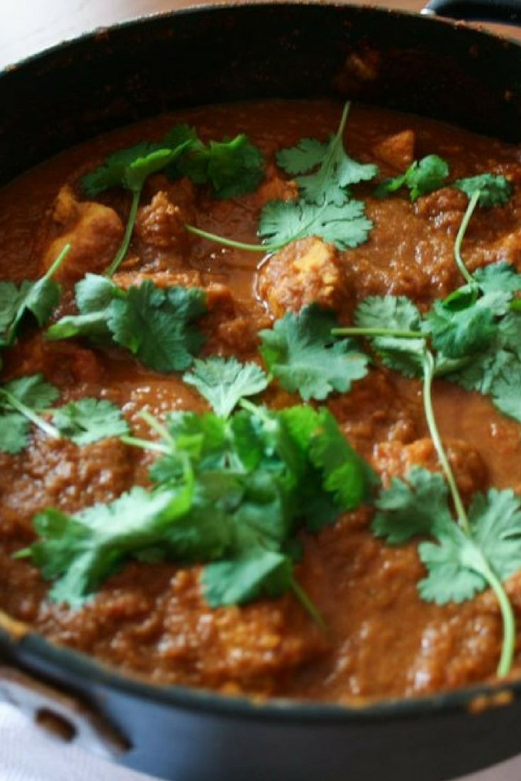 """Easy Chicken Madras Recipe 
