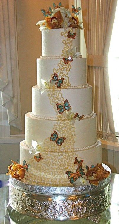 Pi di 25 fantastiche idee su torte nuziali a piani su for Nuovi piani domestici con le foto