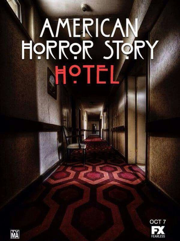 American Horror Story: Hotel poster (likely faux - too early for a real one)