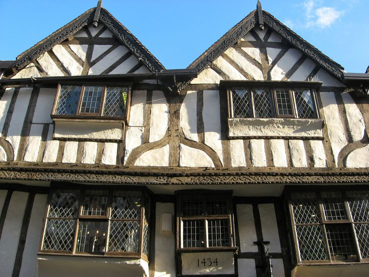 Late medieval building, York, England