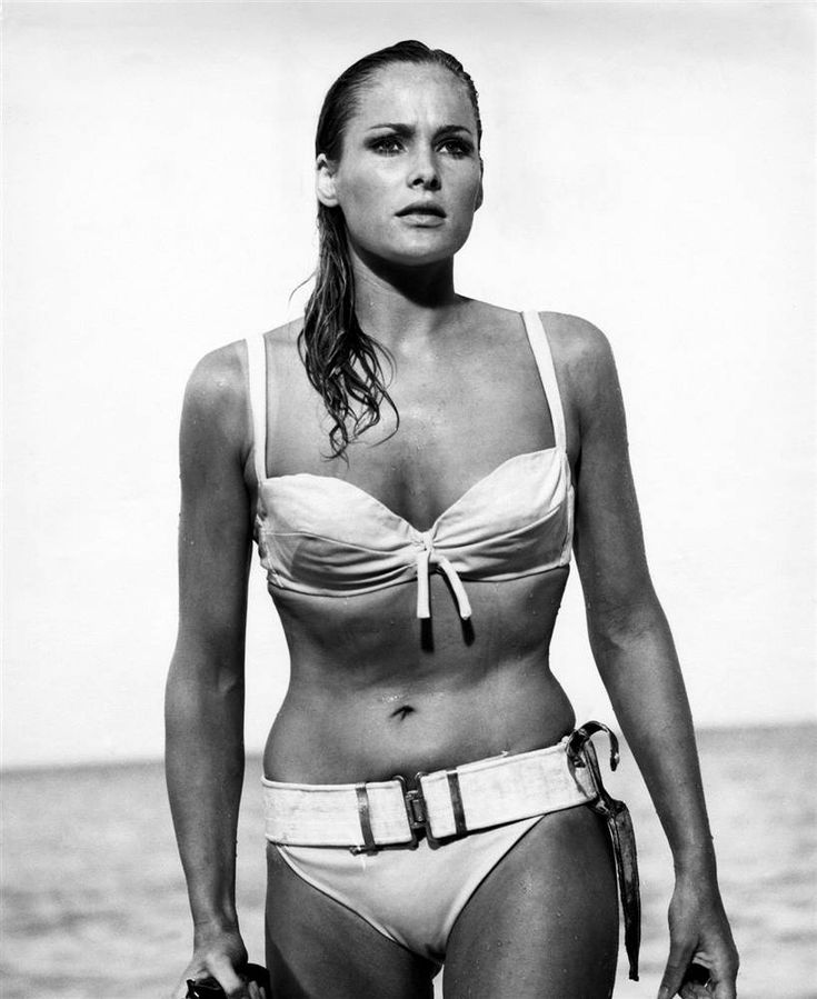 Ursula Andress: In 50 years, they still haven't found an equal to the original Bond Girl.