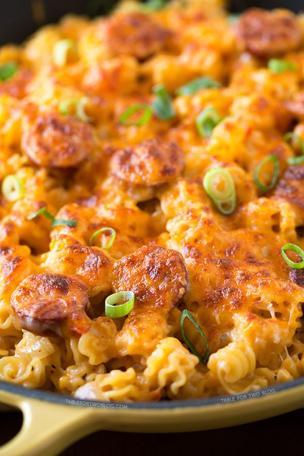 Oh wow, this looks amazing! Spicy Sausage Pasta by @Julie Forrest Forrest Forrest Forrest {Table for Two}