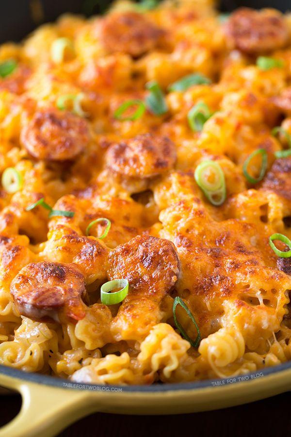 Spicy Sausage Pasta - Delish.com