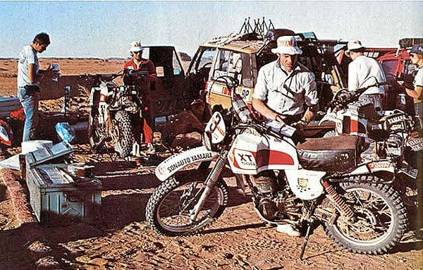 1979 Paris Dakar XT500 Maintenance