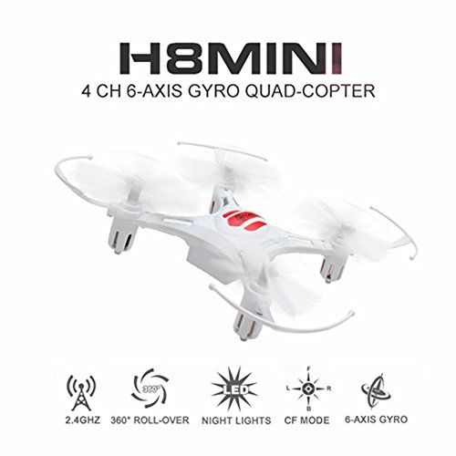 Eachine H8 Mini Quadcopter Drone Headless Mode Remote Control Nano Quadcopter RTF Mode 2 (White) >>> Check this awesome product by going to the link at the image.