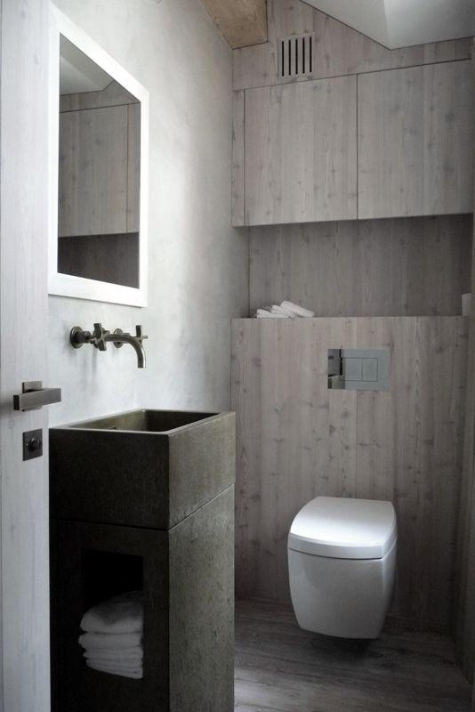 Simples et élégantes, les toilettes ne sont pas en manque niveau déco.