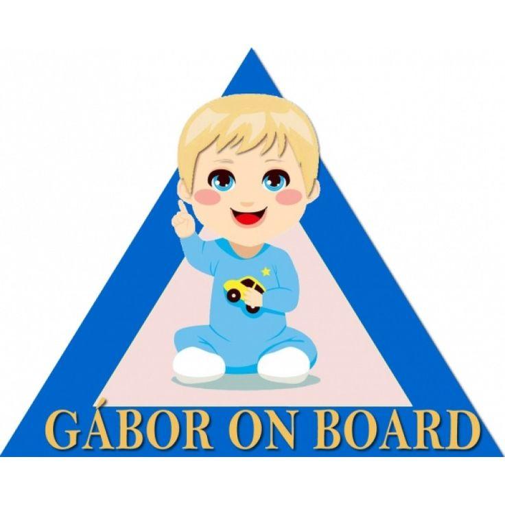 Baby on board kisfiú