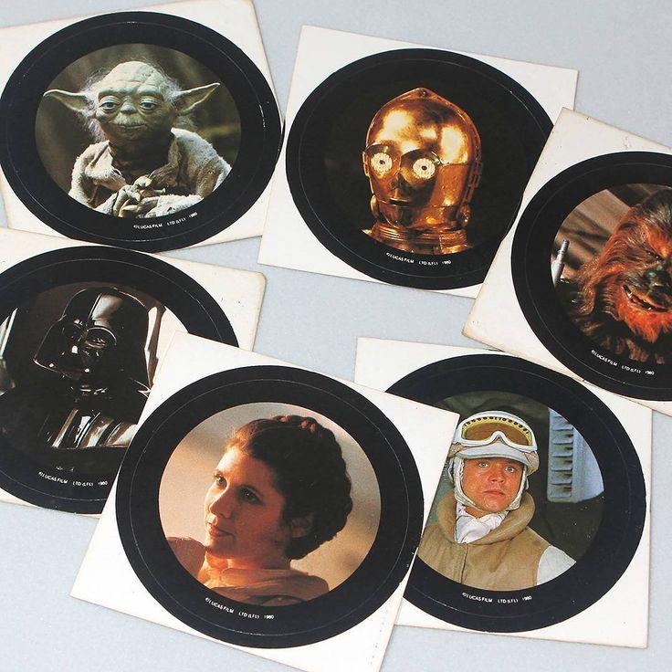 Star Wars NZ - vintage stickers