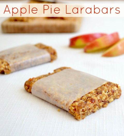 Homemade Protein Bars: Apple Pie Larabars