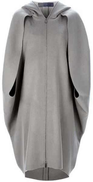 Hooded Cape More