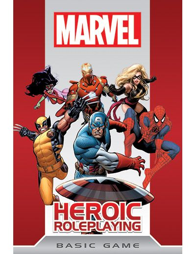 Marvel Heroic Roleplaying. Best Super Hero Game I never got to play. Yet.
