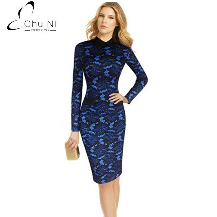 Chu Ni New Bodycon Floral Print Lace Dress Vestidos Turn Down Collar Sexy Evening Women Dress Clothing Plus Size 4XL N142
