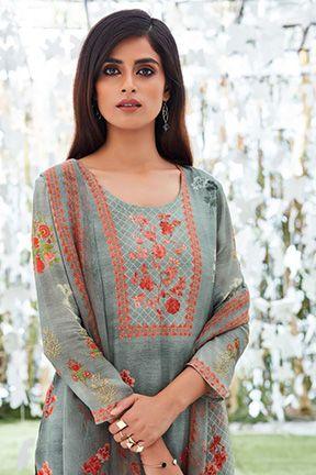 5094e4a2d1 Buy Ganga Fallen Angel Digital Printed Salwar Suits 6245 Fallen AngelGanga,  Brand : Ganga,