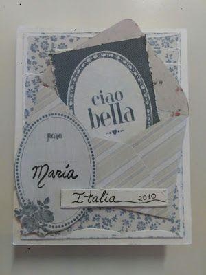 Mini Scrapbook, Ciao Bella.