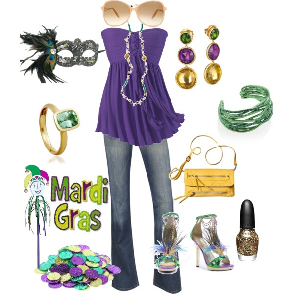 CARNIVAL TIME mardi gras outfit