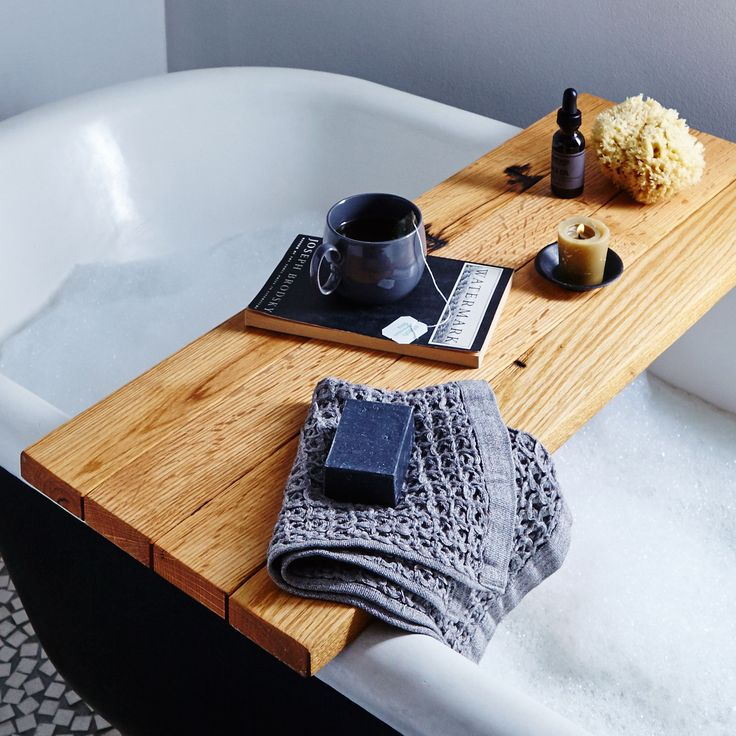 Natural Wood Tub Caddy on Food52