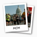 MCM Photo Button- i cheered last year at mile marker 23 and going back this year woohoo