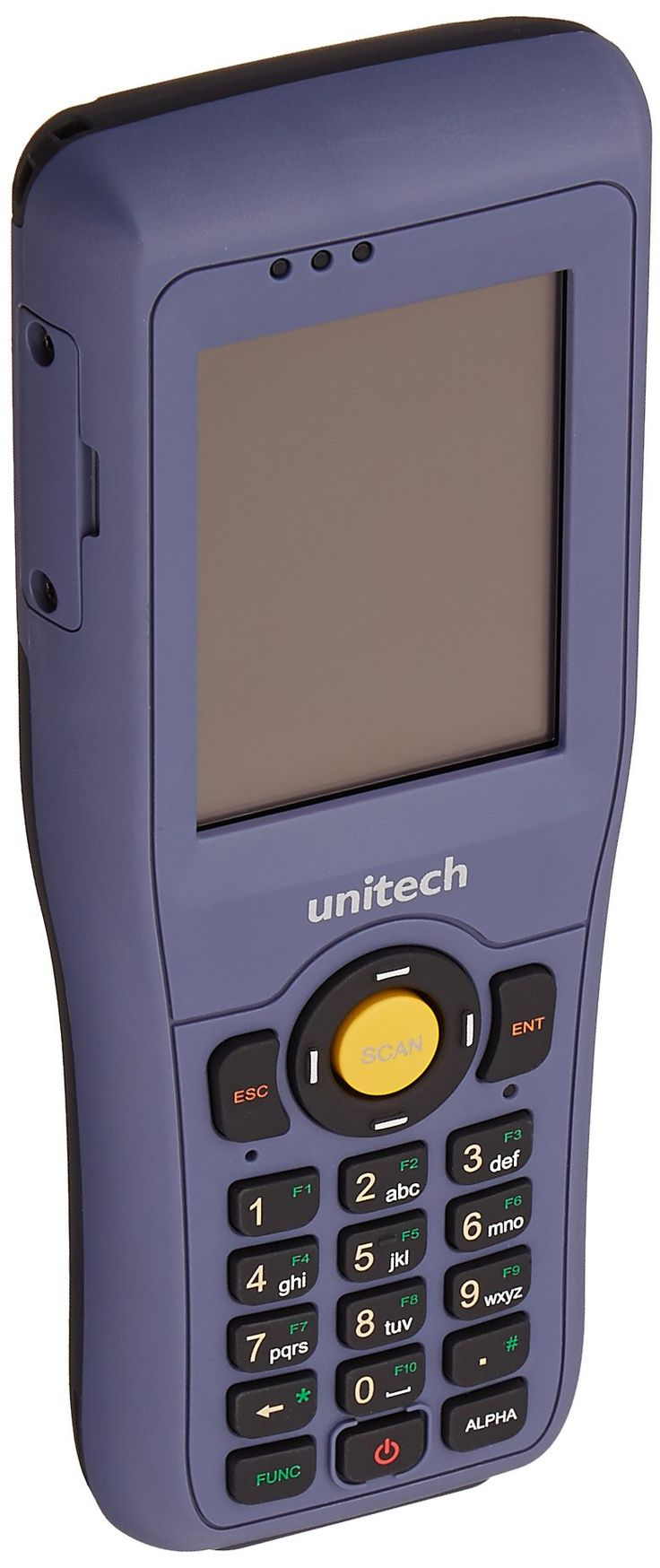 Unitech HT682-9460UADG HT682 Mobile Computer, Laser, Wi-Fi, Bluetooth, CE 6.0, Battery, USB Cable, Power Adapter. Microsoft Windows CE 6.0 Pro. CPU: 800MHz TI OMAP AM3703. Environmental Seal: IP65. Withstands 6 foot drops. Weight: 11 oz (with battery).
