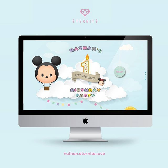 39 best eternite digital invitation images on pinterest invitation proudly present to you our nathans birthday party invitation see his disney tsum stopboris Images