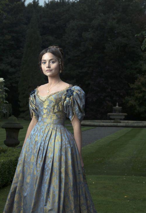 Jenna Coleman as Queen Victoria in Victoria (TV Mini-Series, 2016).