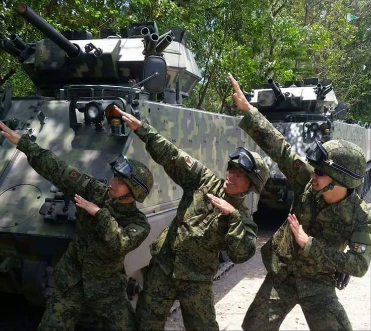 Recently Philippine Army adopted new combat uniform kinda similar with Canadian Armed forces. With this, new camo paint scheme was also adopted and applied to M113's .