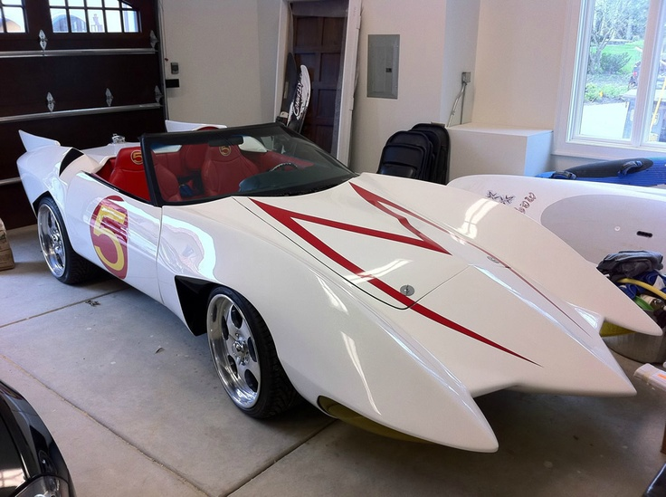 Mach Five from Speed Racer  Where many of our motor head dreams of going fast started.