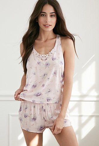 Pijama Acuarela Floral | Forever 21 - 2000077344