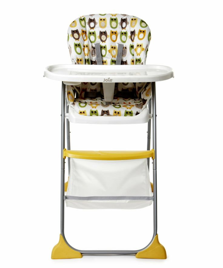 Joie Mimzy Snacker Highchair - Owls - highchairs - Mothercare