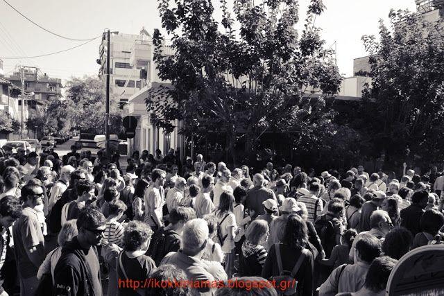Η ΚΟΚΚΙNΙΑ ΜΑΣ: Περπατήσαμε στις γειτονιές της Νίκαιας.