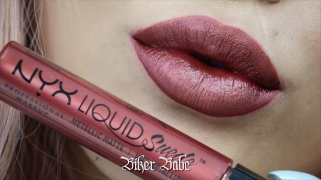 """27.8k Likes, 379 Comments - NYX Professional Makeup (@nyxcosmetics) on Instagram: """"Major glam alert!  Catch a sneak peek of our NEW Liquid Suede Metallic Matte collection!  See…"""""""