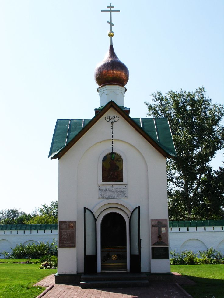 Муром. Спасский мужской монастырь.