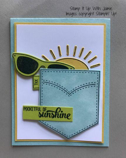 89 best pocketful of sunshine images on pinterest handmade cards stampin up pocketful of sunshine stamp it up with jaimie m4hsunfo